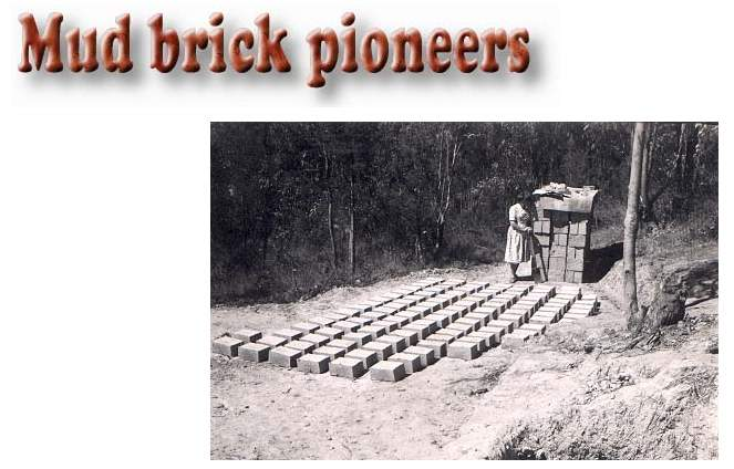 Building a mudbrick home in the 1950's